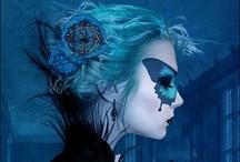 Baile de máscaras / Masquerade / Estás invitad@... / You are invited... / by Silvia Bookworm