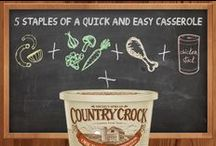 Delicious & Easy Back to School Recipes / by Country Crock