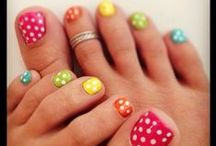 *Nails* / Some of these are really wild I know, but a lot of them can be used to give you some cute ideas, better than just a plain old color. Cant hurt to try. / by Jennifer Lewis
