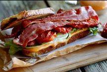 Sandwiches, Burgers & Pizza (Handhelds) / by Barry Kurtz