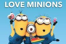 Minions...so darn cute! / by Amy Van Horn Foote