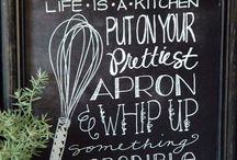 Kitchen decor / by Shelbie Gaouette