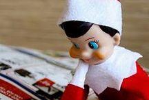 Elf on the shelf ideas / by Megan Strauch