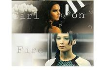 The girl on fire / by Hope Hunter
