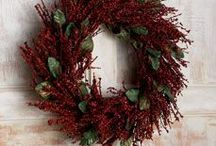 Wreaths...not just for Christmas / I love having different wreaths throughout my home for every season. / by Tori Netzer