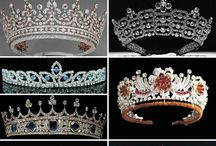 Tiaras Twinkles & Royalties / Crowns and Tiaras / by Teresa Christolear