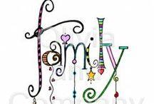family / by Bernadette Callahan