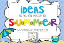 Summertime / by Miss Kindergarten