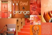 Coral & Orange  / by Live Haver Johansen