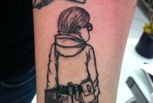 Kid Lit Ink / Primarily tattoos based on children's literature; plus a few other beauties.  / by E. Lockhart