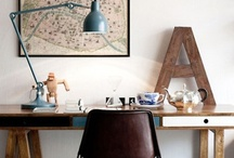Home Workspace  / Here are some of my favorite home work spaces collected from the web, I hope that you enjoy them as much as I do! / by Live Haver Johansen