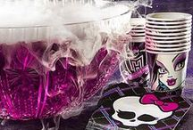 Monster High Party Ideas / Check out our freaky fabulous Monster High party ideas! Invites, decorations, and more to make your monster mash birthday bash something to howl about! / by Party City