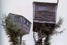 tree houses / by Connie McDowell