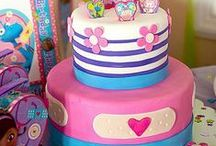 Birthday Cake Ideas / Let them eat cake! Get tons of ideas for amazing birthday cakes for kids' fave birthday party themes and characters ... complete with feast-your-eyes photos and step by step cake decorating how-to's. Got forks?  / by Party City