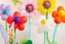 Tinker Bell Party Ideas / Get inspired by our easy Tinker Bell party ideas filled with fairy magic and whimsy -- no pixie dust necessary! These party ideas for Tinker Bell favors, table settings, dress up and decorations add up to a perfect Pixie Hollow party. / by Party City