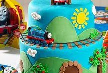 Thomas the Tank Engine Party Ideas / Toot Toot! Full steam ahead with the best birthday party ever! Put a big smile on your birthday boy's face with Thomas the Tank Engine room décor, tableware, favors and more!  / by Party City