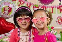 Strawberry Shortcake Party Ideas / *Berry* Unforgettable! Transform a party room to Berry Bitty City filled with tableware, decorations, games, and everything Strawberry Shortcake your birthday girl will love!  / by Party City