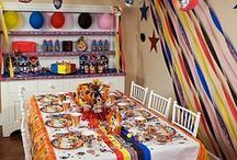 Power Rangers Party Ideas / It's morphin' time! Transform a party room into a Power Rangers space with cool decorations, games, favors and awesome food ideas that will get the birthday boy and friends ready for action!  / by Party City