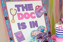 Doc McStuffins Party Ideas / Dottie, Stuffy & friends are ready to deliver a dosage of fun to your little girl's birthday party! Our Doc McStuffins tableware, games, décor, favors and more are just what the doctor ordered! / by Party City
