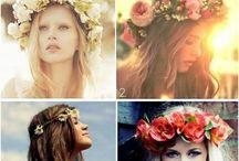 Flower crowns / by Melina Fischer