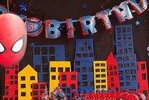Spider-Man Party Ideas / Give your little web-slinger and friends hours of amusement with a Spider-Man birthday party that's packed with decorations, games, favors and more super-heroic ideas!  / by Party City