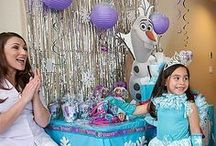 Frozen Party Ideas / It's time to let your creativity go and create a winter wonderland birthday for your princess! Room decorations, fun activities, adorable food ideas...our party ideas will help you bring the magical world of Arendelle to your party room! / by Party City