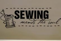 needle, thread & sew-on / by Marcia Myers-Knoles