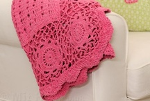 crochet  afghans, blankets & throws / by Marcia Myers-Knoles