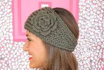 crochet hats, scarves, bags, gloves, etc / by Marcia Myers-Knoles