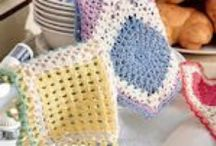 crochet doilies, potholders, coasters etc. / by Marcia Myers-Knoles