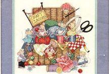 cross stitch mice / by Marcia Myers-Knoles