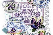 Cross stitch-kitchen / by Marcia Myers-Knoles