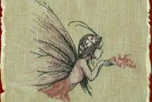 cross stitch fairies, dragons, magick / by Marcia Myers-Knoles