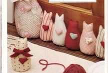 pin cushions and doorstops / by Marcia Myers-Knoles