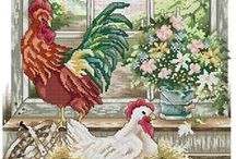 crossstitch birds / by Marcia Myers-Knoles