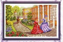 cross stitch classics / by Marcia Myers-Knoles
