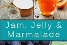 Canning-jams, jellies, preserves & butters / by Marcia Myers-Knoles