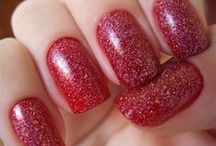 Red Wedding Nail Art Designs & Ideas 2014 / by Amber Angel
