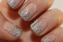 Glitter Wedding Nail Art Designs & Ideas 2014 / by Amber Angel
