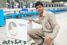 Split Air Conditioner / http://harshbardhanlive.blogspot.in/ / by Harsh Vardhan
