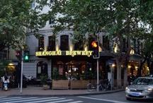 Shanghai Brewery / Shanghai Breweries - Henshang Road and Hongmei Road / by Sue Birmingham