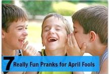 """April Fool's Day / by Mariel @ """"Or so she says..."""""""