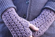 crochet gloves / by Karen Bigler