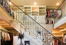 Beautiful Dream Closets / These Closets=My Happy Spot / by Tonia Steele