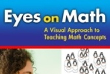 Visual Math / A collection of ideas to incorporate visuals into your math lessons.   For more ideas, read Eyes On Math, the latest resource by Dr. Marian Small that shows how to use images to stimulate mathematical teaching conversations around K-8 math concepts.  Visit www.nelson.com/eyesonmath / by We Inspire Futures