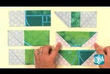 Quiltmaker's Block Network / Quiltmaker posts a new free quilting video each week on Quiltmaker's Block Network. Each one contains a free block pattern and how-tos for making it along with setting and design ideas. Come join us! http://www.quiltmaker.com/videos/index.html / by Quiltmaker Magazine