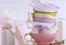 Tea Time / Everything tea... Parties, cups & saucers, types of tea, teapots, decorations... Everything! / by Shera {A Frog In My Soup}