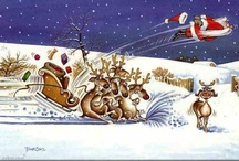 Christmas Funny Cartoons / by Margie Offermann