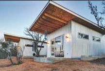 Home / leaning towards re-purposed, industrial & small spaces. / by David Moskow