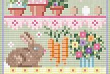 Cross Stitch Patterns Eastern & Spring / by Christel Krampitz